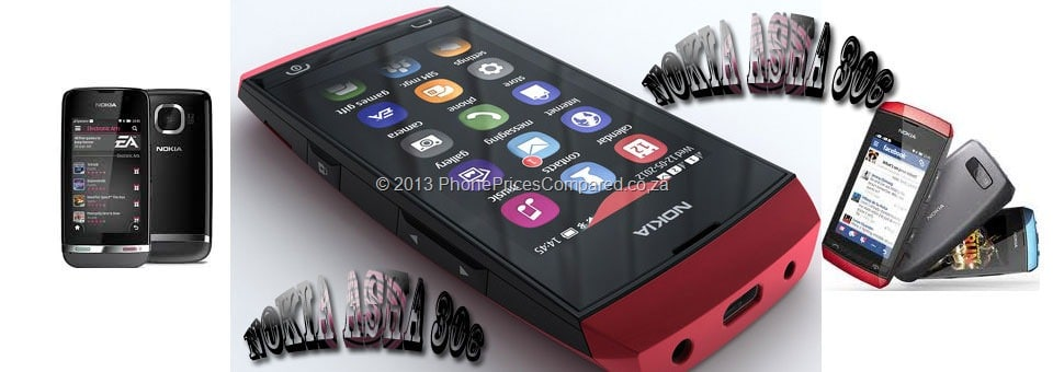 Nokia Asha 306 Prepaid Deals campared
