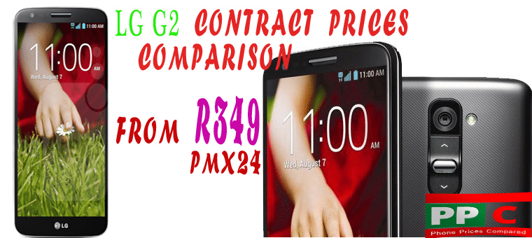 LG G2 Contract Deal Price Comparison